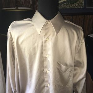 Geoffrey Beene Wrinkle Free Sateen Dress Shirt